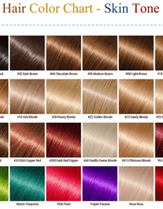 Hair color chart for skin tone also charts to choose best shade your hairs rh wordlayouts