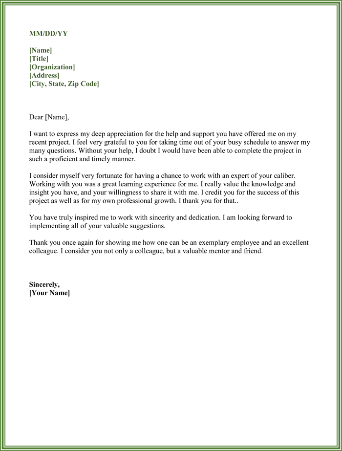 thanking letter for help Use our free letter help desk support cover thank you letter for your.
