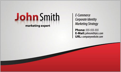 business card template 11