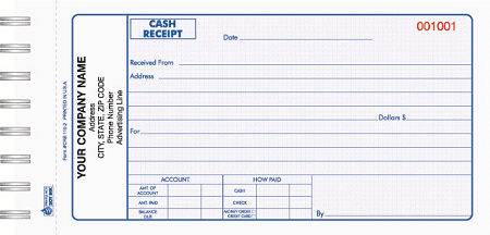 Cash Receipt Template 11  Cash Receipt Sample