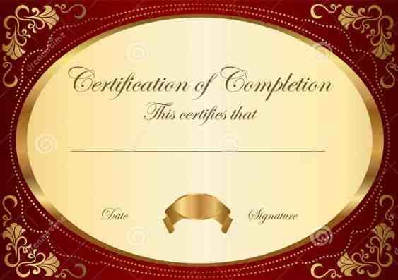 certificate template 44