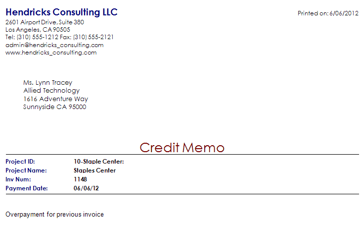 5 memo invoice templates - excel pdf formats, Invoice examples