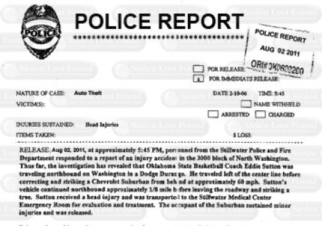 police report template 33