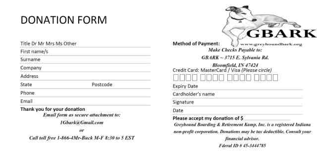 Donation Form Templates  Excel Pdf Formats