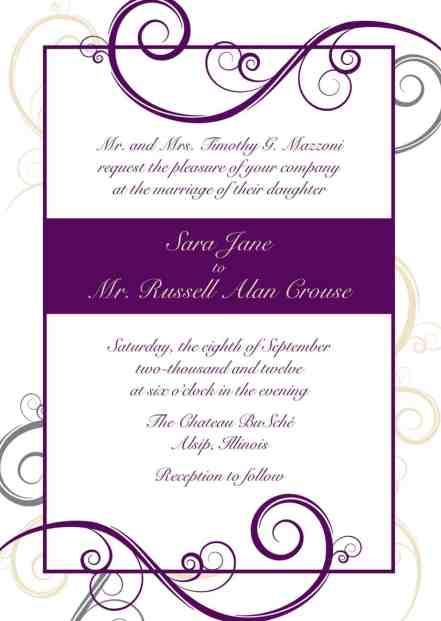 invitation template54574