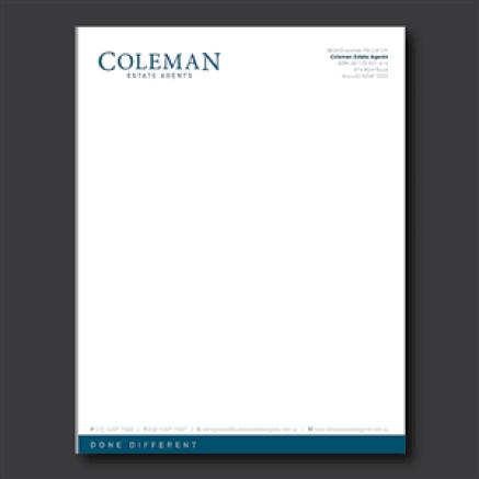 letterhead template 54541