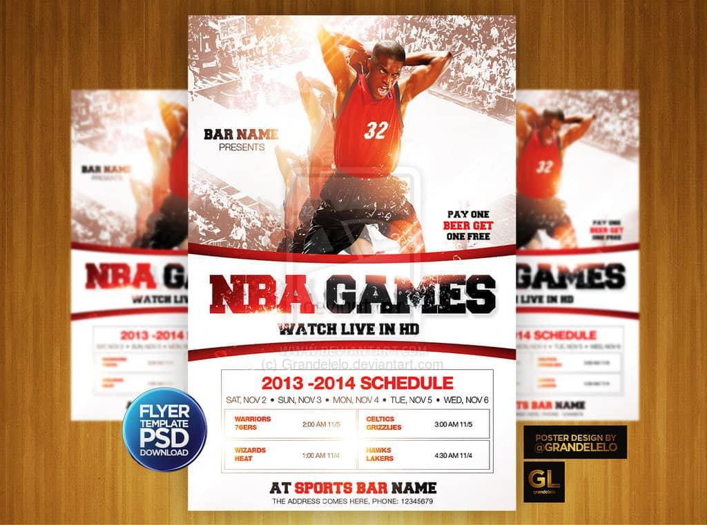 Basketball Flyer Template Free Ukransoochico - Basketball flyer template free