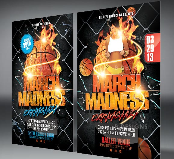 Basketball Flyer Templates  Excel Pdf Formats