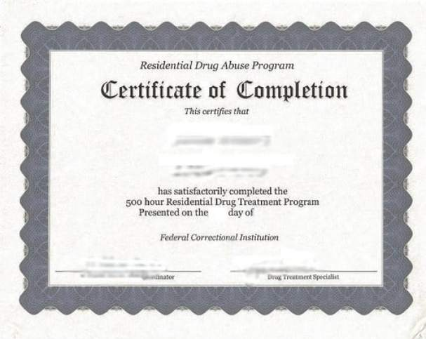 Certificate of Completion template 6985
