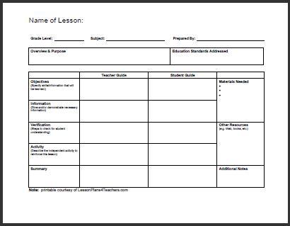 plan template 15245