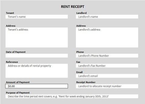 rent receipt template 355