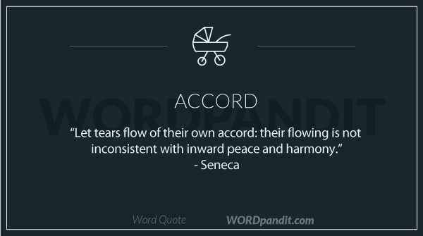 Meaning Of Accord