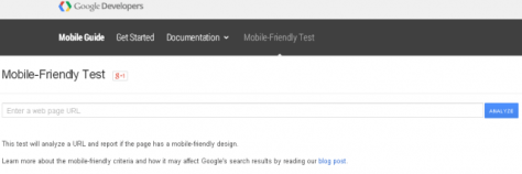 Google's Mobile-Friendly Update-Mobile-Friendly Test