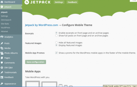 Google's Mobile-Friendly Update-Jetpack's Mobile Theme