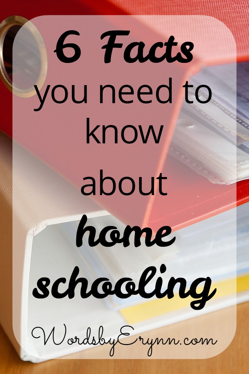 What I've learned so far in homeschooling, and the important facts that you need to know if you're considering homeschooling, or have started already. WordsbyErynn.com