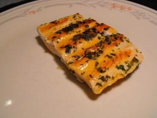Basil-Buttered Salmon