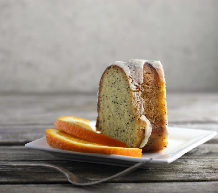 Orange Poppy Seed Bundt Cake