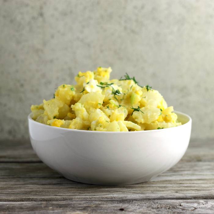No-Mayo Potato Salad