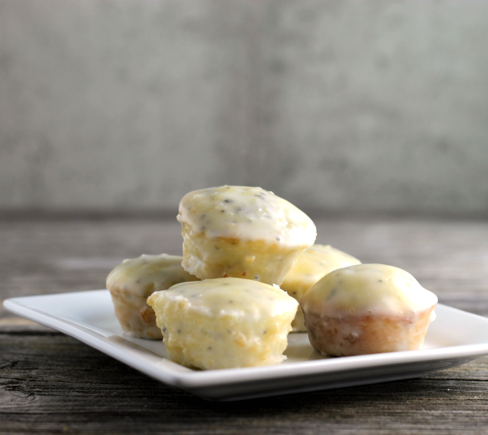 Lemon Poppy Seed Cake Bites