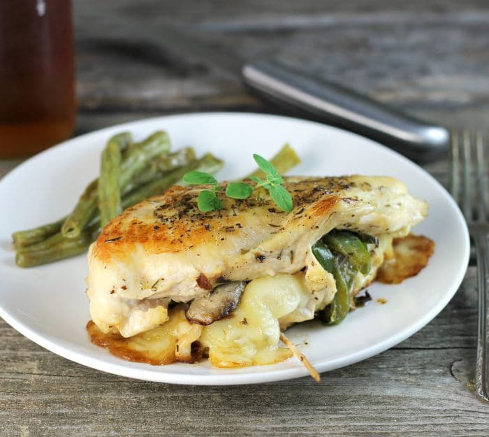 Italian stuffed chicken breast is made with a few ingredients but is full of flavor and is a perfect meal for during your busy work week.