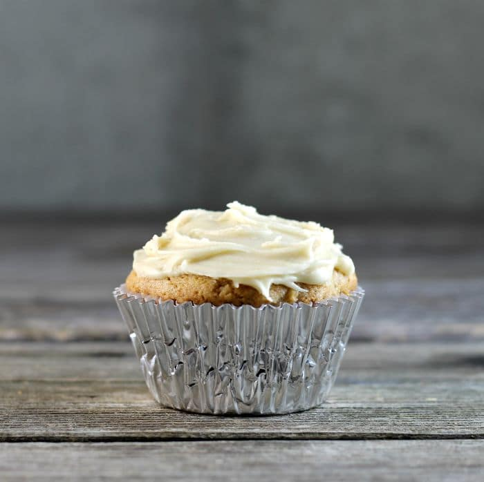 Spiced Apple Cupcakes a great way to use the apples that are now in season top with a caramel or cream cheese frosting and you have a fantastic dessert.