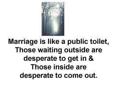 funny quote marriage is