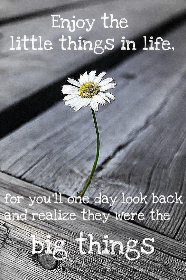 Spiritual Quotes For Laptop Wallpaper Enjoy The Little Things In Life Collection Of Inspiring