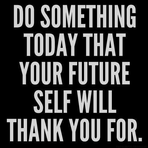 do something today that