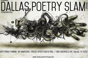 Dallas Poetry Slam Logo