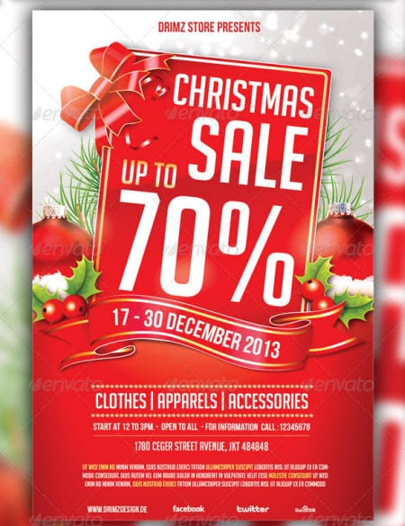 sale flyer template 4