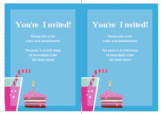 party invitation template image  5