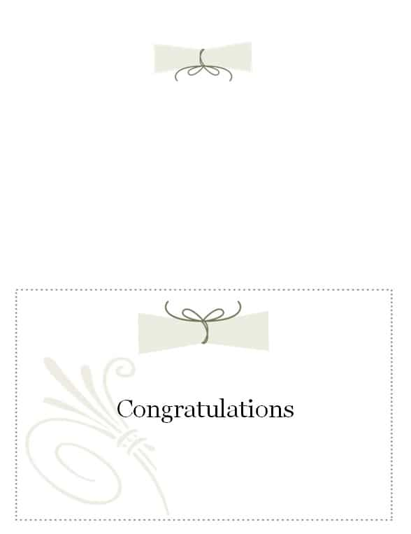 photo regarding Free Printable Graduation Name Cards titled commencement standing card template for web pages - 28 shots