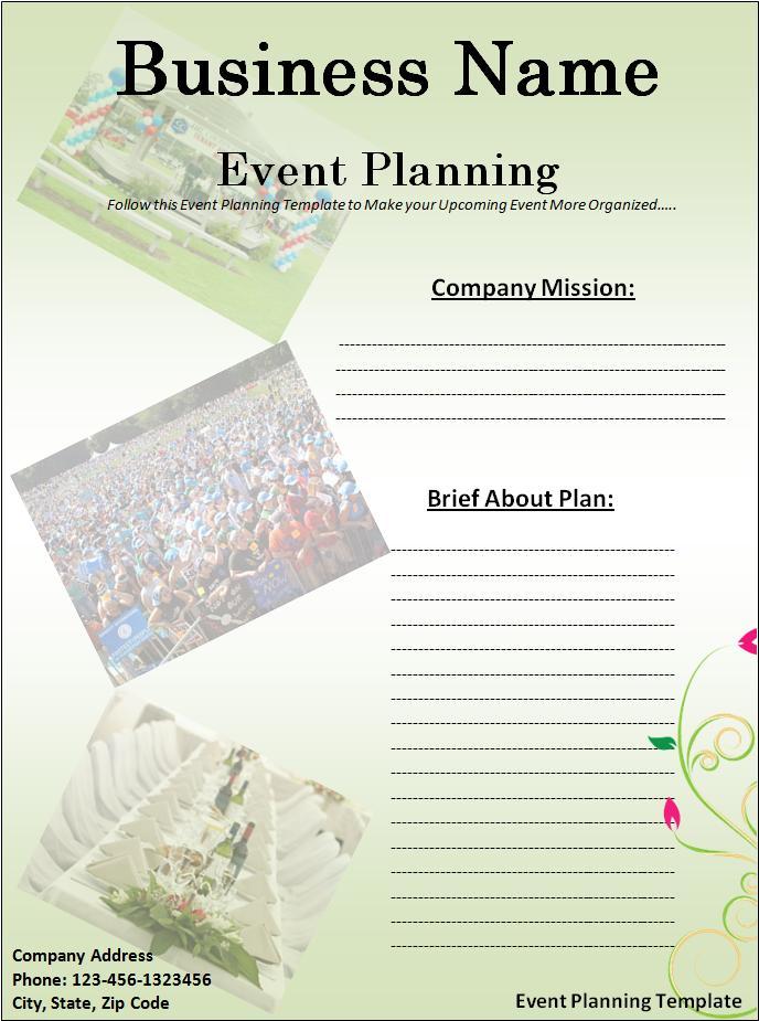 Plan Templates Free Word Templates Part 2