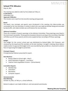 meeting notes template microsoft word