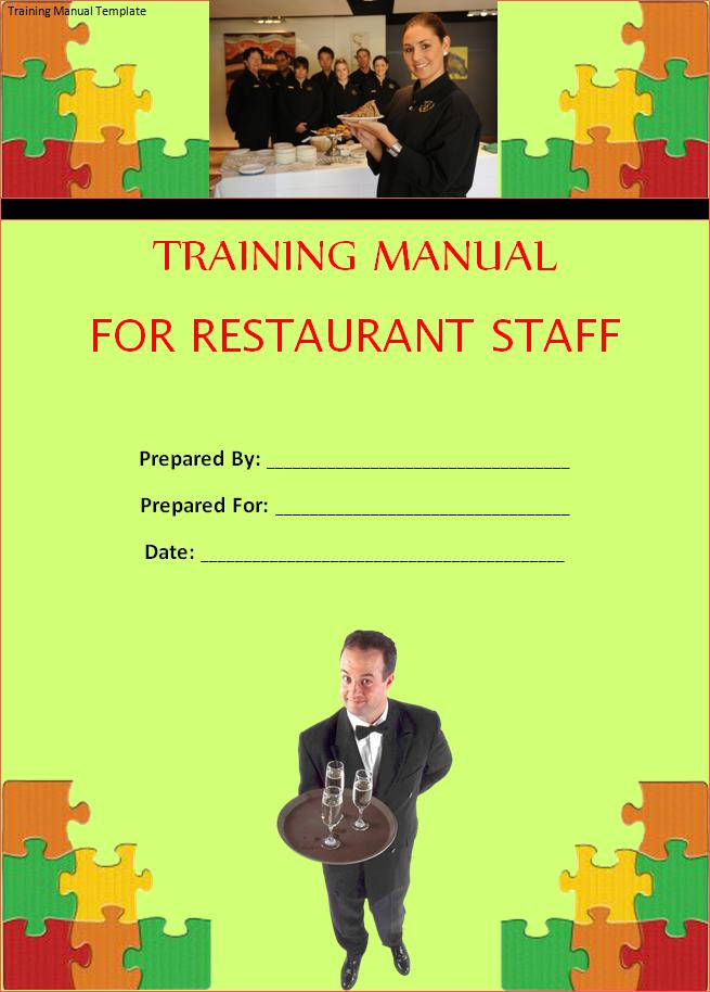 Free Training Manual Template Free Word Templates