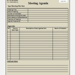 meeting agenda template