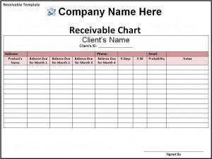 bill receivable format