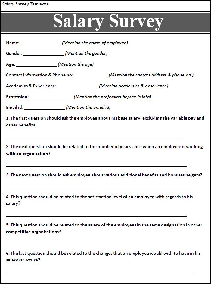 Generous Demographics Questionnaire Template Images - Resume Ideas ...