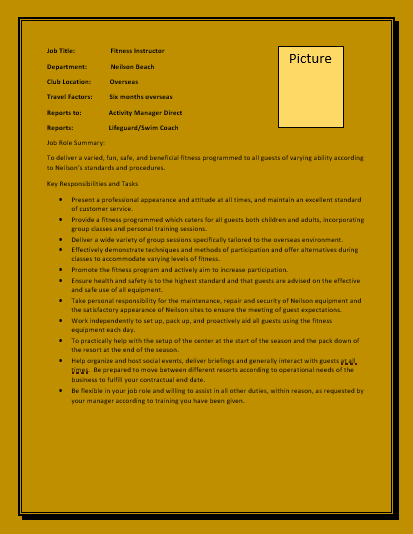 5  fitness trainer resume templates