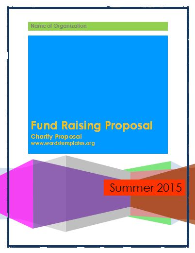 Fund Raising Proposal Template  Charity Proposal