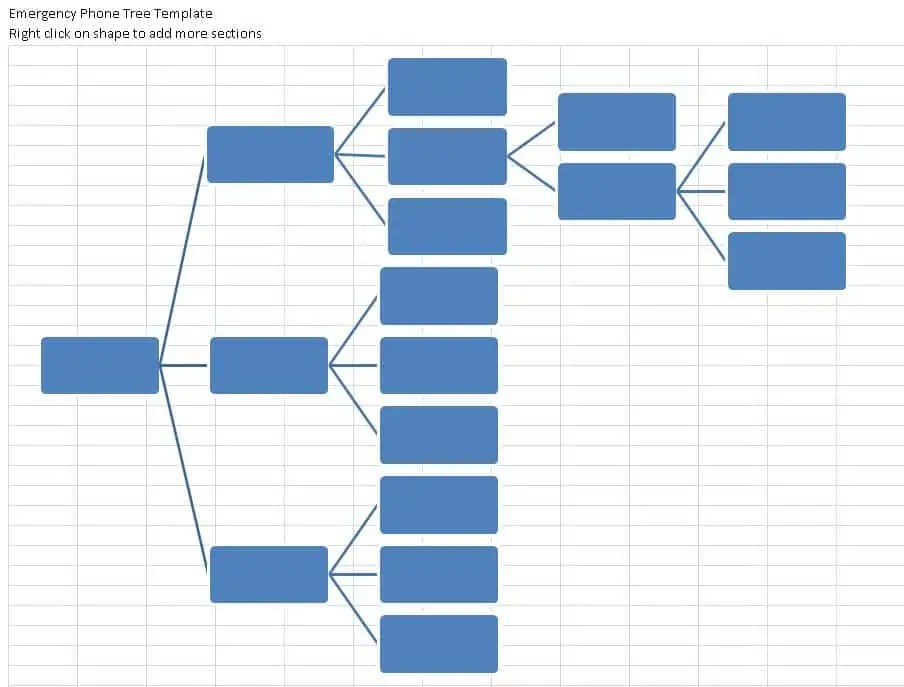 phone tree template excel - Boat.jeremyeaton.co