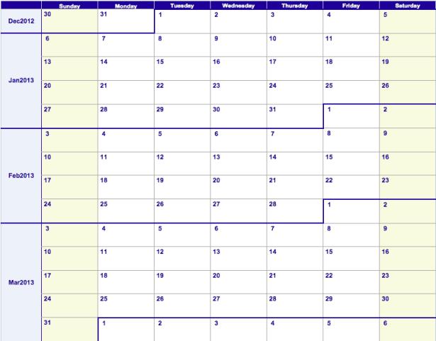 workout calendar template 5