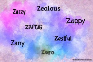 adjectives that start with Z