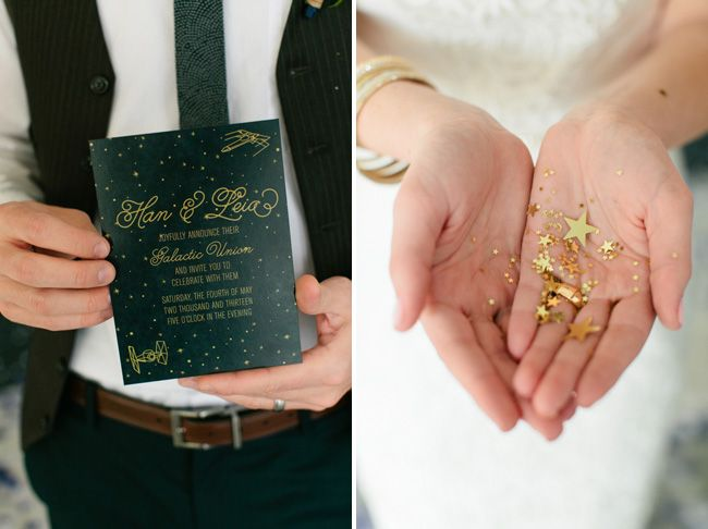 Star Wars Themed Wedding Inspiration From Words To Glow
