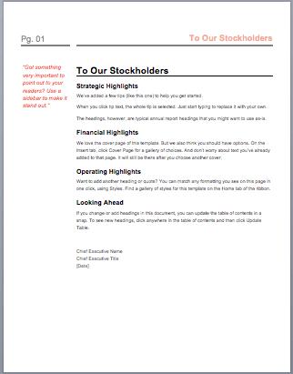 annual report of microsoft