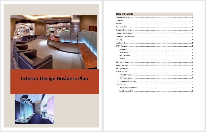 Business Plan Templates – 6 Free Exclusive Templates – Word Templates for Free Download