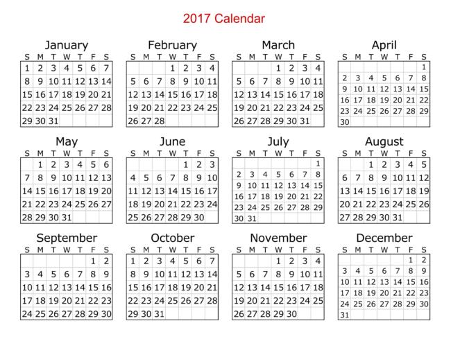 calendar in excel template