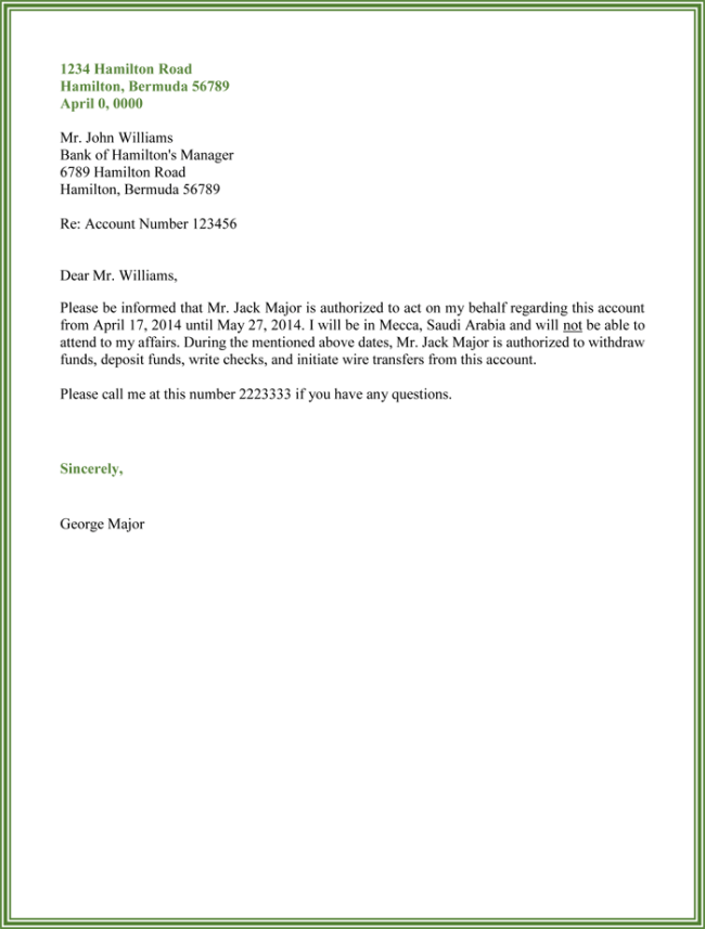 Sample Letter Of Bank Transfer Request