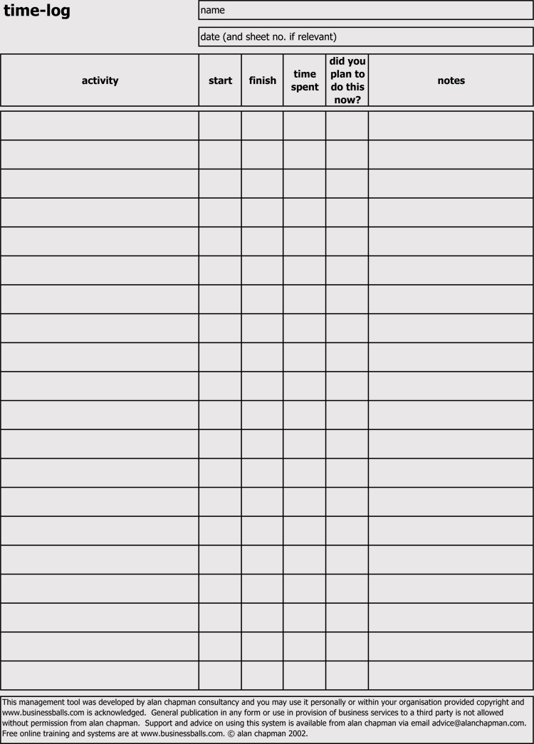 Leverage the power of microsoft excel by downloading the perfect free log template. Time Log Sheets Templates For Excel Word Doc