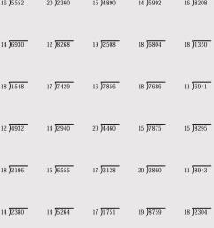 Printable Division Worksheets (for Grade 4-6) - Free Downloads [ 1064 x 750 Pixel ]
